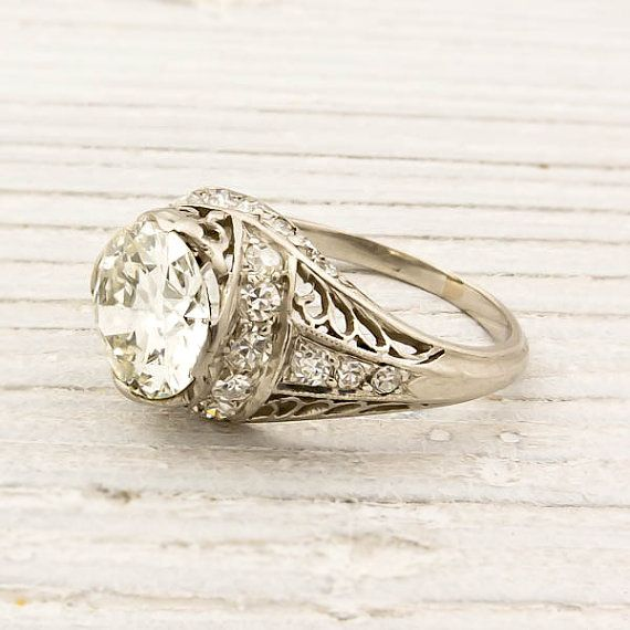 they don't make rings like this anymore!: Diamond Engagement Rings, Engagementring, Wedding Ring, Vintage Engagement Rings, Style, European Cut Diamonds, Vintage Rings