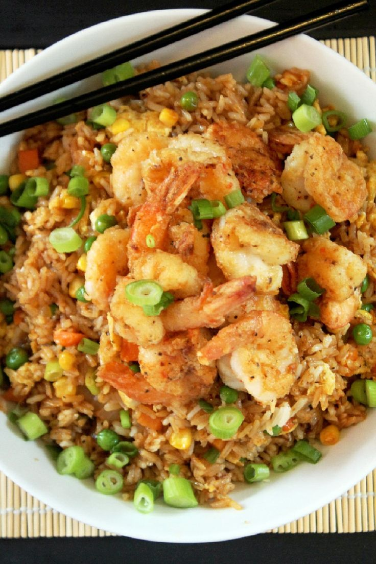 Today is the perfect day to cook my tasty world famous Chinese Style Shrimp Fried Rice! Yes, I said world famous fried rice, lol. Whenever I cook a meal that's beyond delicious I always tell my family that it's world famous. Yes they look at me like I've just lost my mind, but by the …