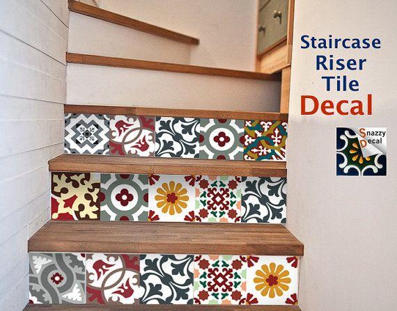 Kitchen Bathroom Tile Decals Vinyl Sticker : Barcelona