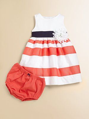 Infant's Dress & Bloomers Set