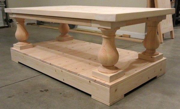Restoration Hardware Style Coffee Table