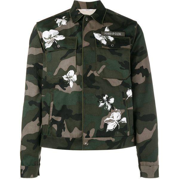 Valentino Camouflage Short Jacket
