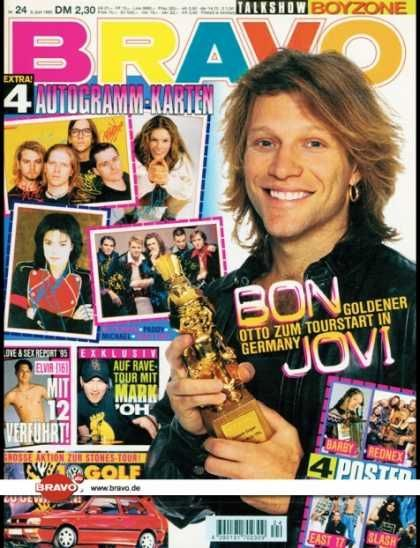 bravo magazine We only got it from West germany and ecen though it was forbidden we lend it to every one in the class (secretly).