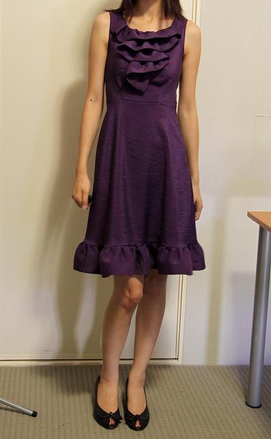 Burda Style Free Pattern - Coffee Date Dress