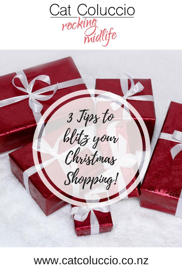Cat Coluccio   3 Tips to blitz your Christmas shopping!