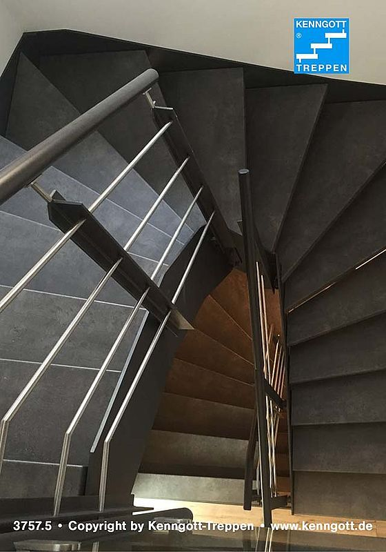 Treppenbeispiele - Longlife Trepppen | Spindeltreppen