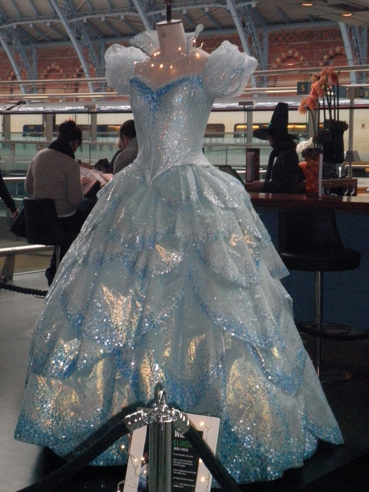 WICKED I have no desire to ever play Glinda but I would love to have her bubble gown