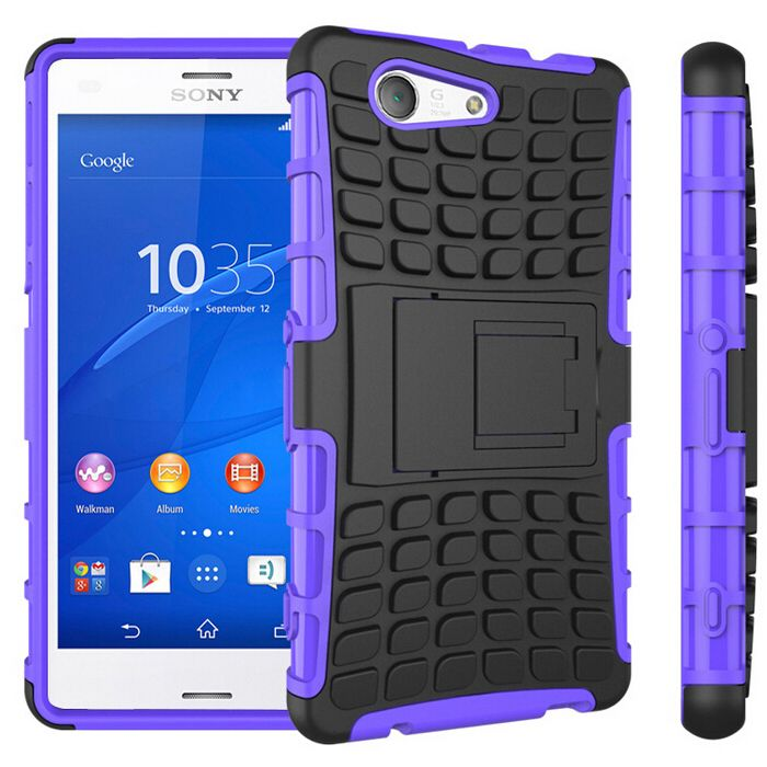 New Case - Purple Sony Xperia Z3 Compact Tough Protective Hybrid Kickstand Case Cover, $11.95 (http://www.newcase.com.au/purple-sony-xperia-z3-compact-tough-protective-hybrid-kickstand-case-cover/)