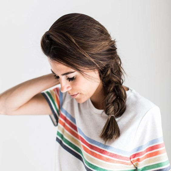 Easy: 5 quick hairstyles for unwashed hair