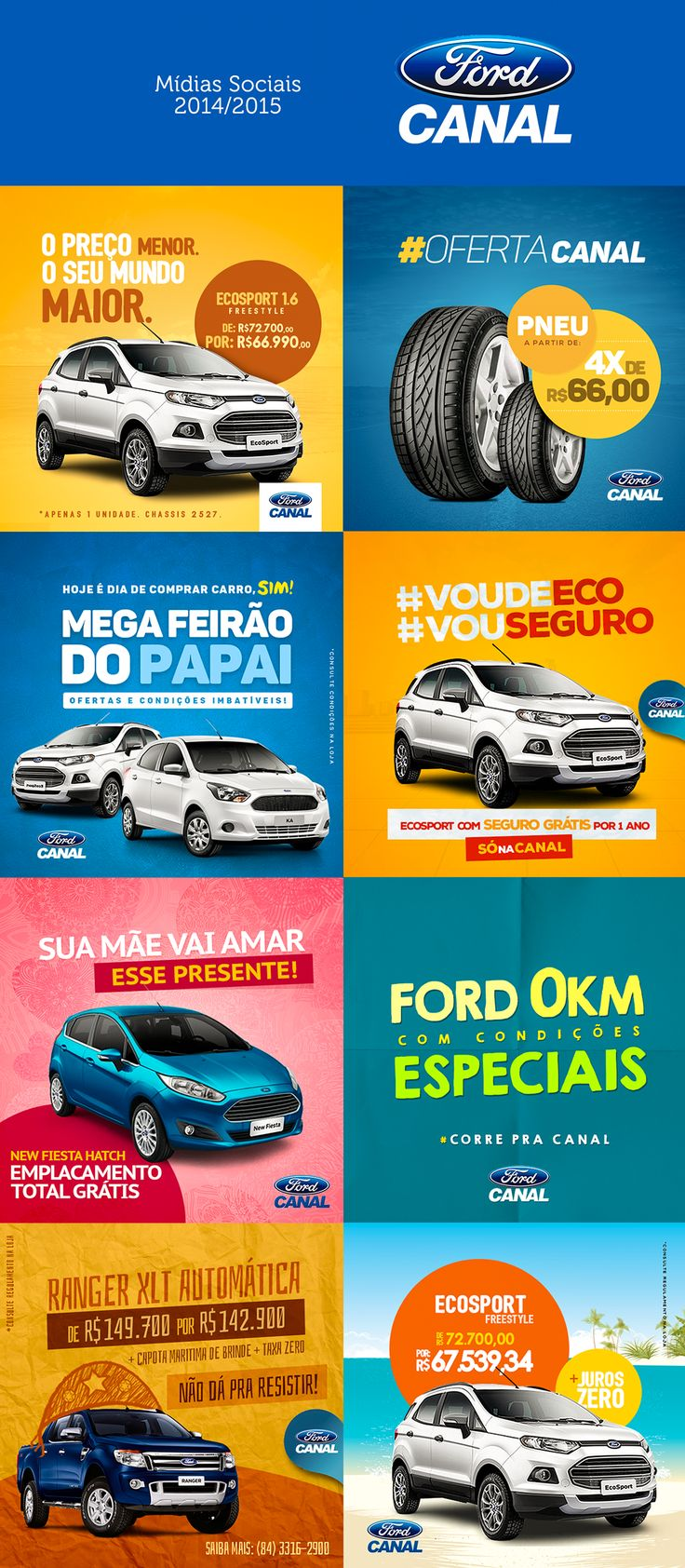 Canal Ford - Social Media on Behance