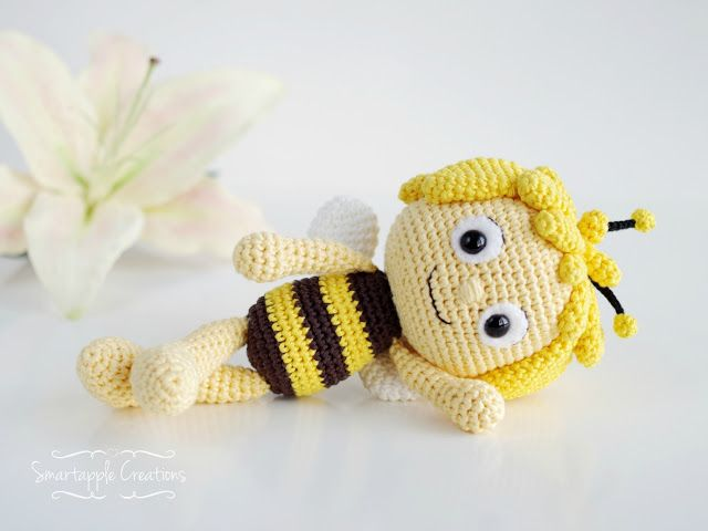 Amigurumi Basic Doll Pattern : Best 25+ Crochet bee ideas on Pinterest