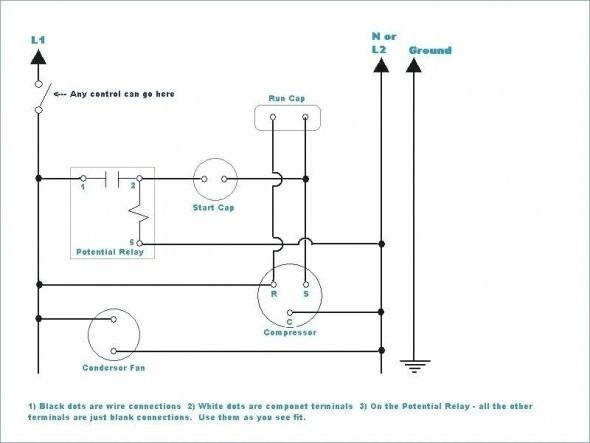 4 Wire Condenser Fan Motor Wiring Diagram