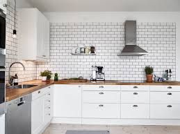 Image result for white tiles black grout kitchen