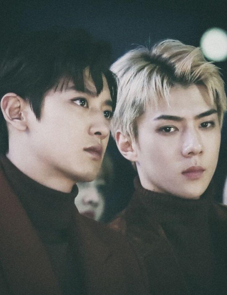 Chanyeol and Sehun