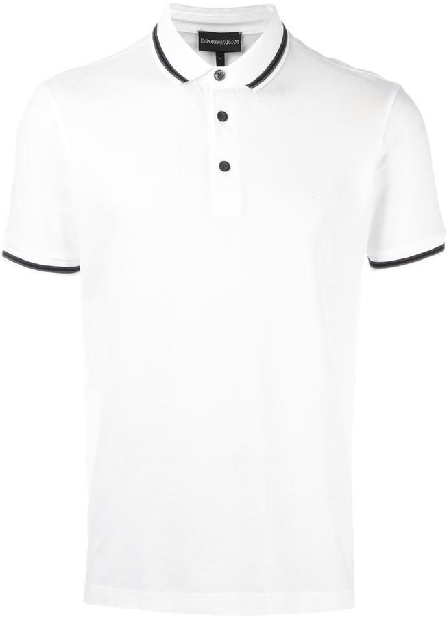 Emporio Armani shortsleeved polo shirt