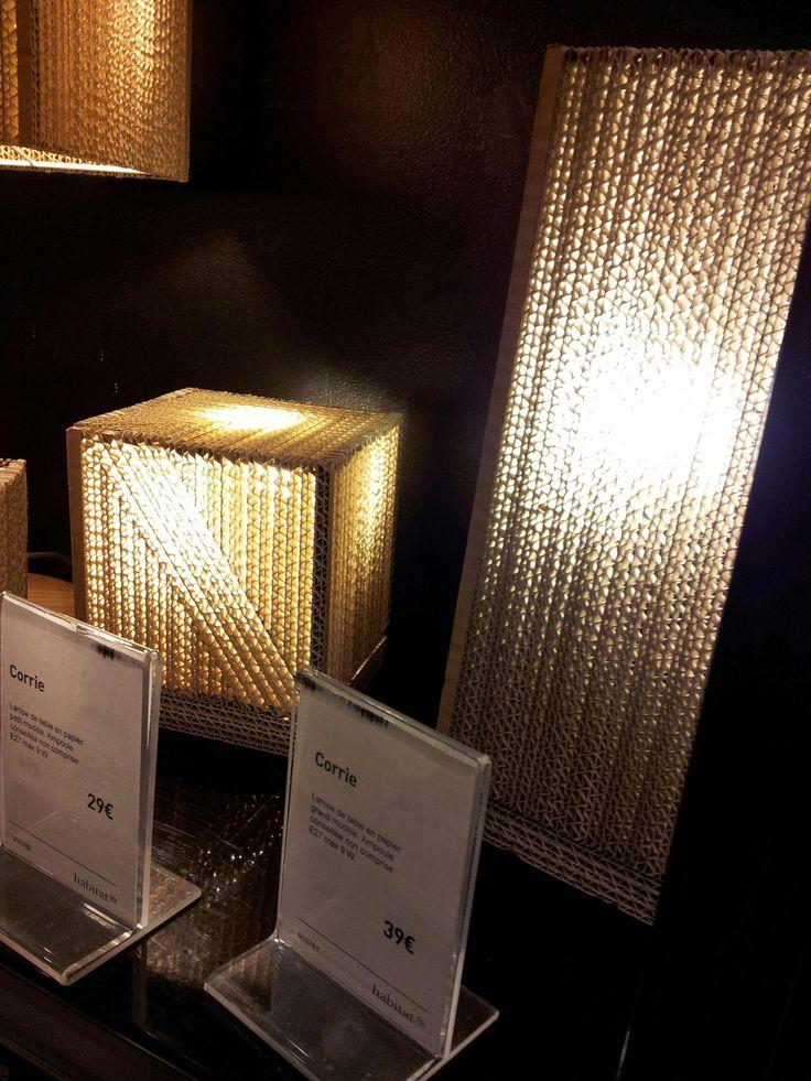 284 best cardboard lamps lampy z kartonu images on. Black Bedroom Furniture Sets. Home Design Ideas