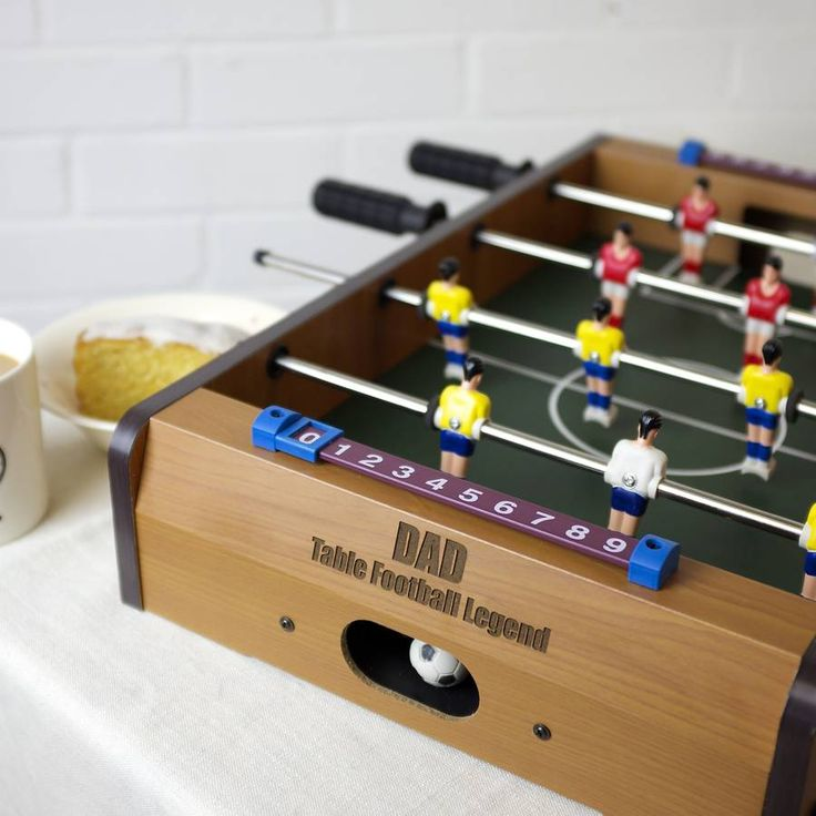 Personalised Table Top Football Game
