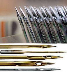 Швейные иглы | Маркировка и виды игл для бытовых швейных машин