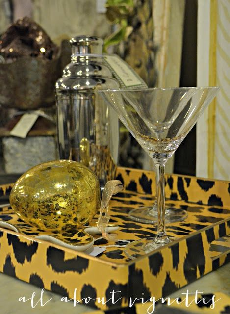 All About Vignettes: Vintage Silver Plate for the Holidays (and some polishing tips)