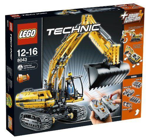 LEGO Technic 8043 - Motorisierter Raupenbagger Lego http://www.amazon.de/dp/B003A2JBW8/ref=cm_sw_r_pi_dp_IFgGub0VKBHH8