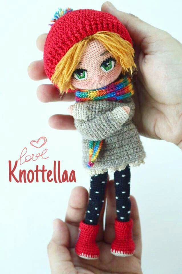 1259 Best Poupees Crochet Images On Pinterest Amigurumi Doll