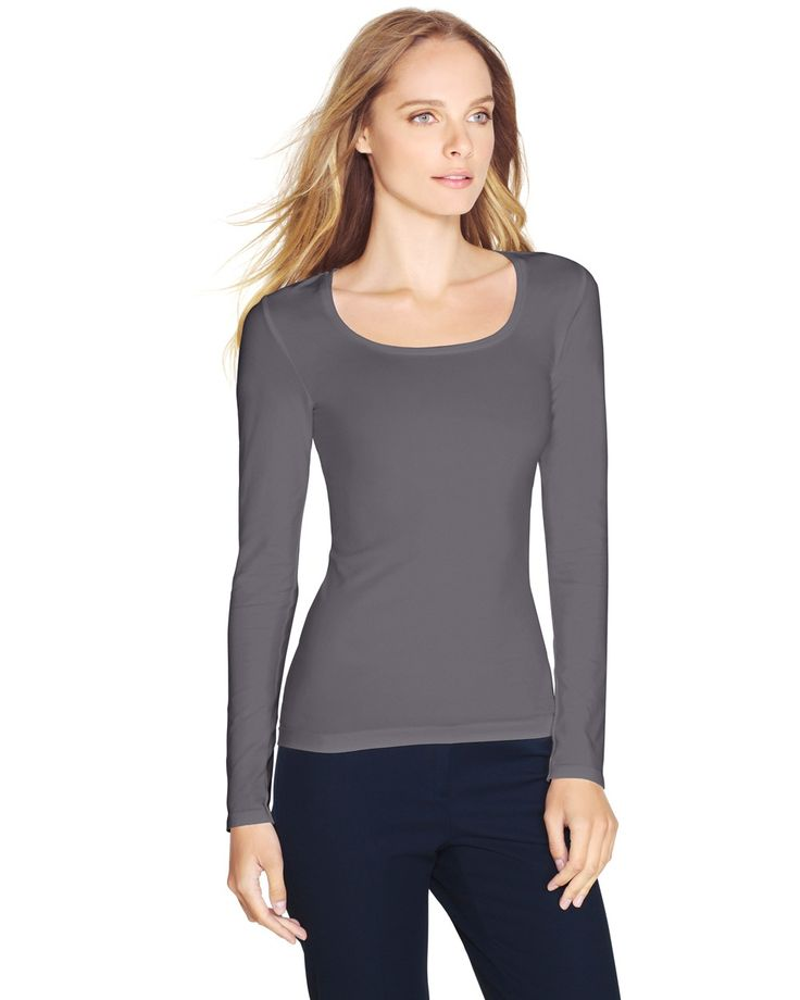 Long Sleeve Seamless Tee
