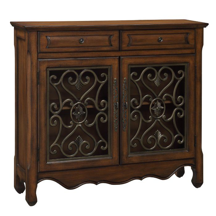 Mauzy 2 Drawer 2 Door Accent Cabinet Powell Furniture Furniture Cabinet