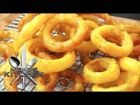 How to make Onion Rings - Video Recipe - YouTube