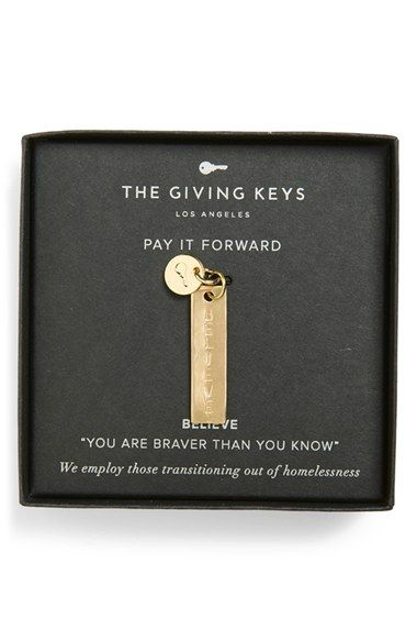 The Giving Keys 'Believe - Belief Collection' Charm