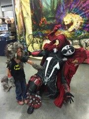 My son the wolfman taking me out lol