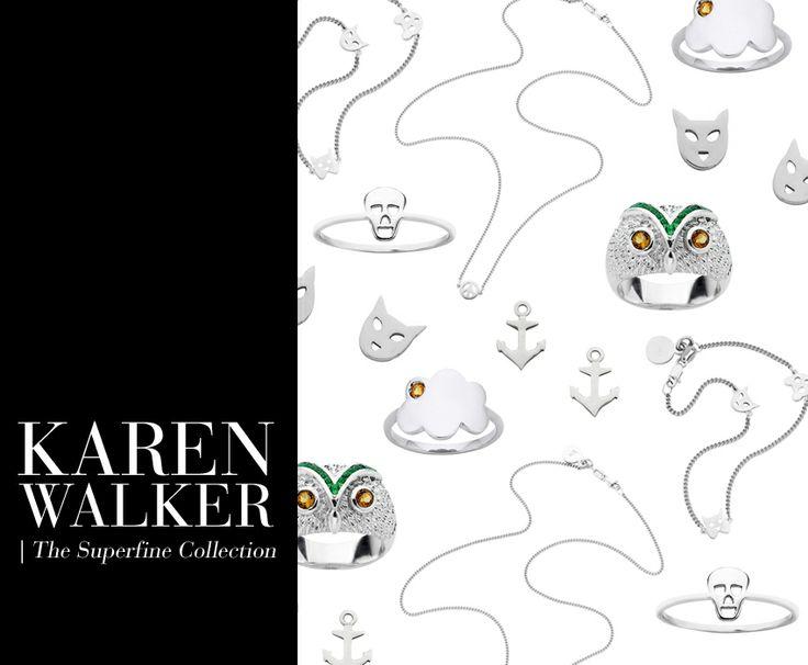 Shop Karen Walker Jewellery - the Superfine collection x www.savethelastpinker.com.au/designers/karen-walker-jewellery/