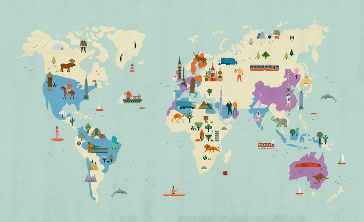 bippity boppity boo: Travel Maps, Illustrations Maps, Maps Illustrations World, Graphics Design, World Maps, Apartment Art, Lotta Nieminen, Maps Globes Mothers Earth, Kids Rooms