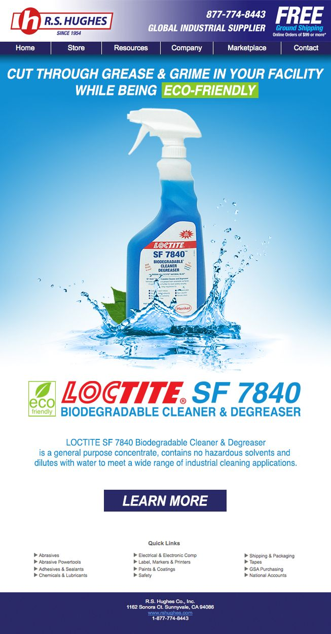 Cut Through Grease & Grime in Your Facility While Being Eco-Friendly