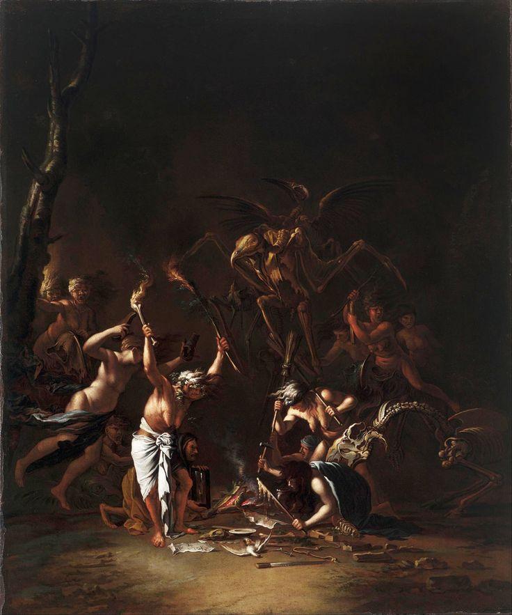 Salvator Rosa - The Witches' Sabbath (1635-54)