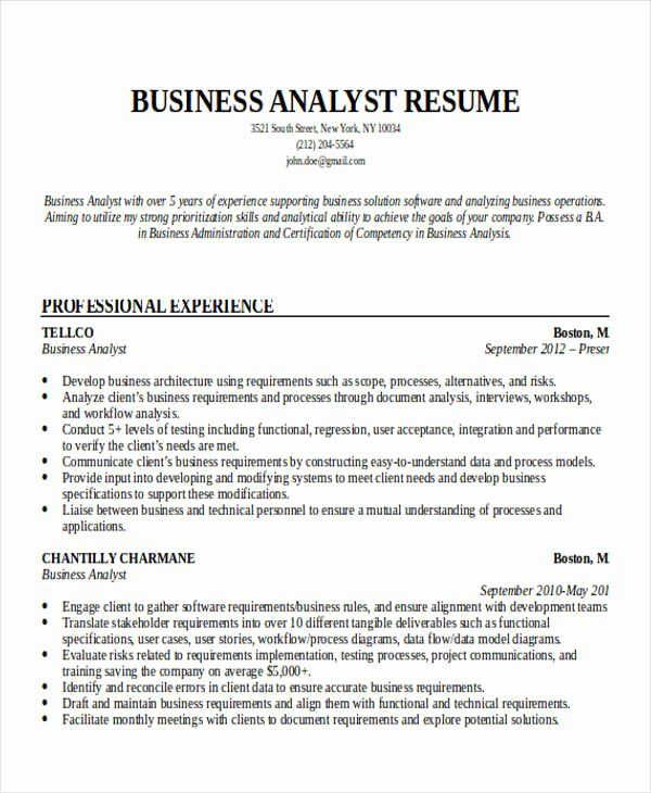 Entry Level Data Analyst Resume Awesome Entry Level Business Analyst Resume Business Analyst Resume Business Resume Business Analyst