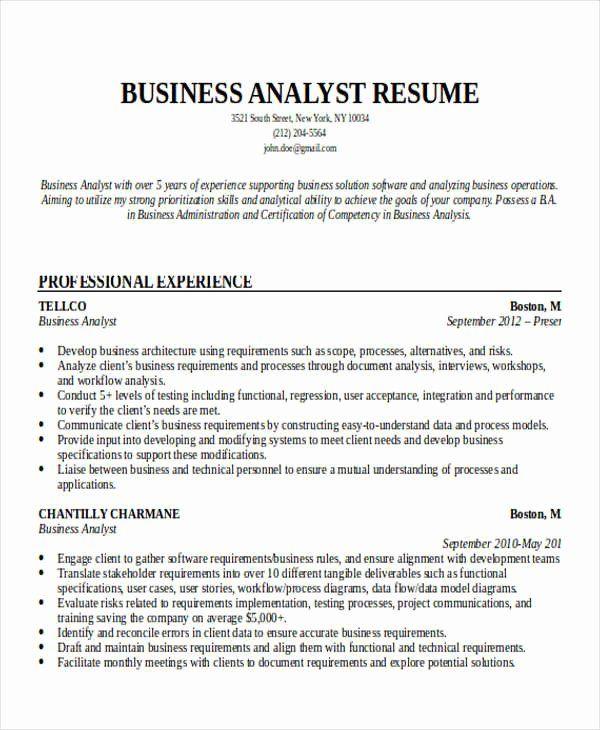 Business Analyst Resume Entry Level Luxury Entry Level Business Analyst Resume Business Analyst Resume Business Resume Analyst Resume