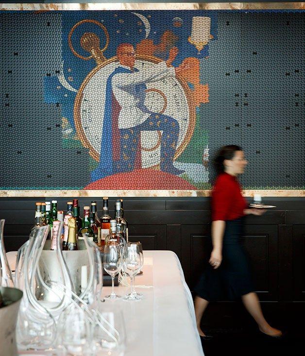 Restaurant review of Heston Blumenthal's Fat Duck pop-up restaurant in Melbourne.