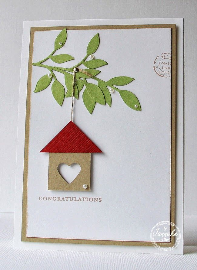 Janneke, Stampin' Up! Demonstrator : Congratulations