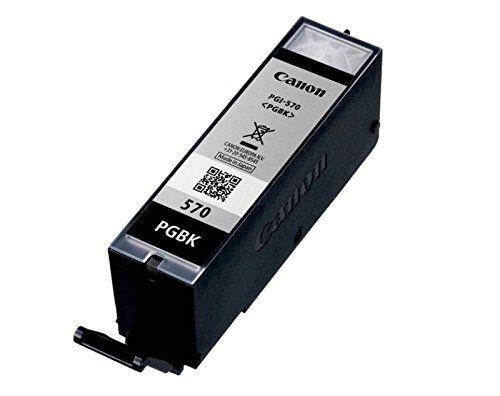 Original cartouche d'encre canon pGI 570 pGI570 pGI – 550 pour imprimantes canon pixma mG 6850 series bulk-bLACK/neutre-boite contenance :…