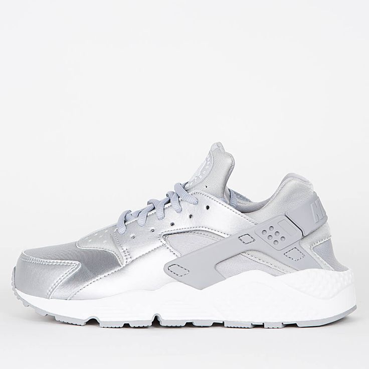 Nike Wmns Air Huarache Run SE – Metallic Silver / Matte Silver US 6   EU 37 #lpu #sneaker #sneakers