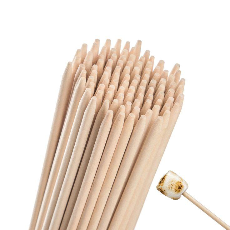 how to prepare wooden skewers
