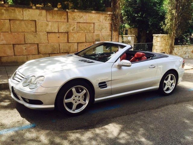 2003 Mercedes SL55 AMG.(LHD)