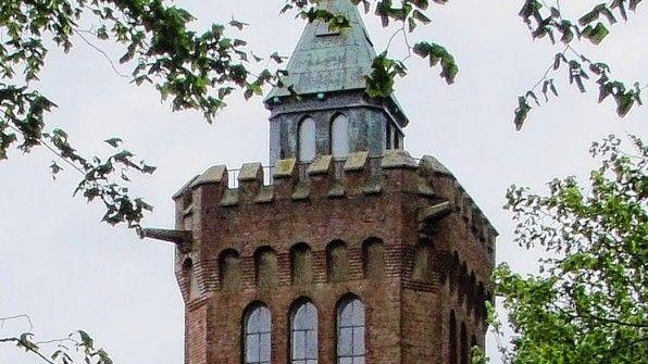 Der Bismarckturm auf dem Scheersberg