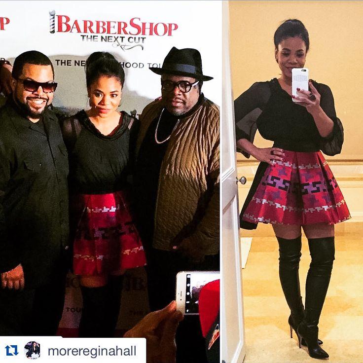 "STUNNING @morereginahall wearing GABRIELE FIORUCCI BUCCIARELLI attending the Red Carper for ""Barber Shop: The Next Cut"" www.gabrielefioruccishop.com @icecube @barbershopmovie @cedtheentertainer  #barbershopthenextcut #thebarbershop #losangeles #holliwood #love #instagood #me #smile #follow #cute #photooftheday #followme #girl #beautiful #happy #picoftheday #instadaily #food #swag #amazing #fashion #igers #fun #summer #instalike #bestoftheday #smile #like4like #friends #instamood"