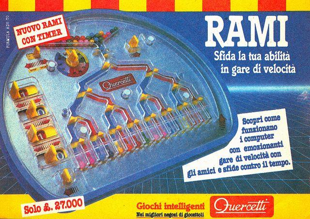 Rami, sfida la tua abilità in gare di velocità, via Flickr. #Quercetti Adv