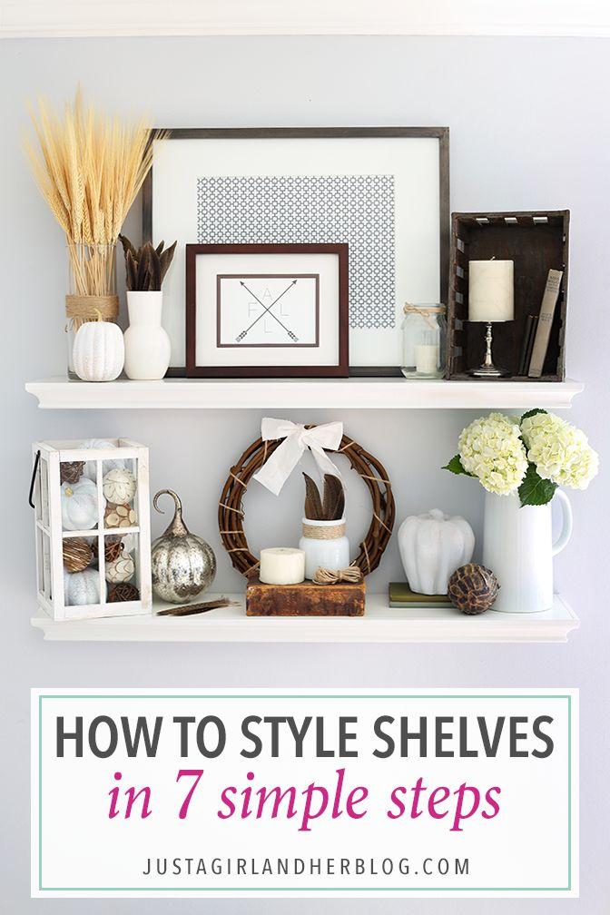 Decorating Shelves best 25+ kitchen shelf decor ideas on pinterest | kitchen shelves