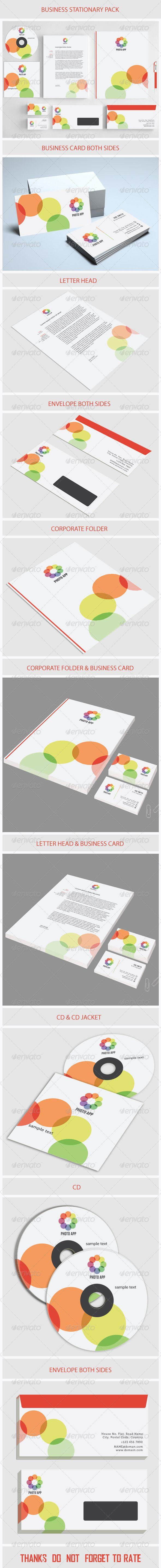 Creative Business Stationary - Stationery Print Templates