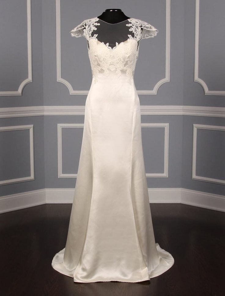 New 100 Authentic Ulla Maija Anna Maier Grace 4404 Wedding Dress At Up To