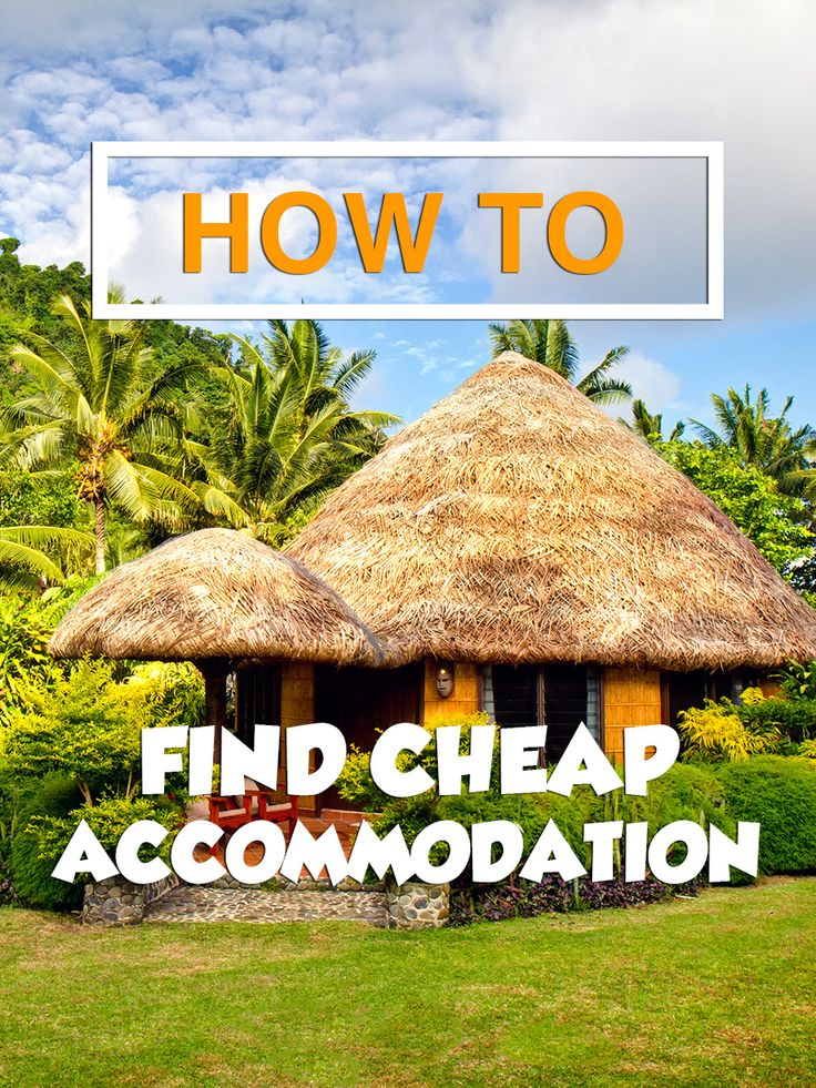 How to find cheap travel accommodation. Tips & advice to help you travel on a budget. #travel #tips