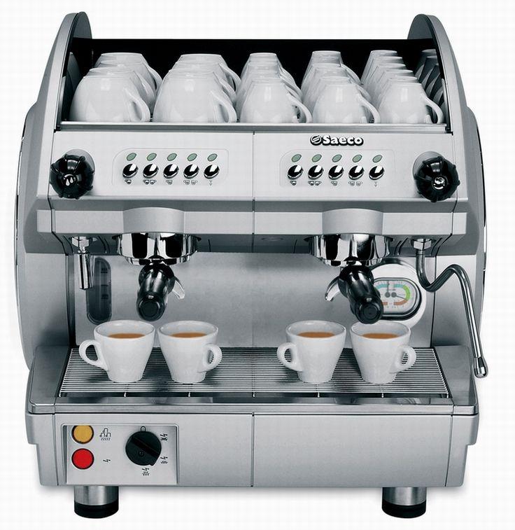 Cafetera Express Profesional SAECO Compacta de 2 Grupos